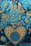 Ideas de la decoración Diseño wallpaper Foto de archivo libre de regalías