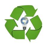 Ideas de reciclaje globales Imagenes de archivo