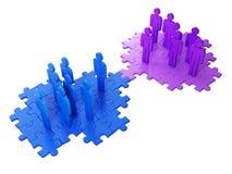 Ideas del asunto. Cooperación del asunto Fotografía de archivo