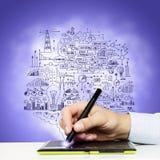 Ideas del negocio stock de ilustración