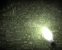 Ideas del negocio Imagen de archivo