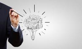 Ideas del negocio Imagen de archivo libre de regalías