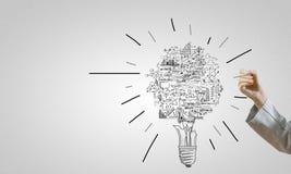 Ideas del negocio Fotografía de archivo