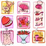 Ideas del regalo Imagen de archivo libre de regalías
