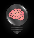 Ideas design,  illustration. Stock Photography