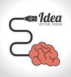 Ideas design,  illustration. Royalty Free Stock Photo