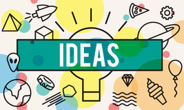 Ideas Design Innovation Objective Strategy Tactics Concept Royalty Free Stock Photo
