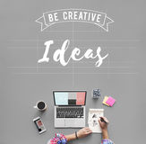 Ideas Design Objective Strategy Suggestion Concept. Ideas Design Strategy Suggestion Concept stock photography