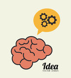 Ideas design Royalty Free Stock Image