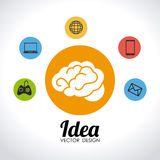 Ideas design Royalty Free Stock Photo