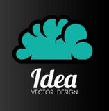 Ideas design, vector illustration. Royalty Free Stock Photo