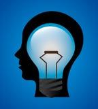Ideas design, vector illustration. Royalty Free Stock Photography