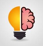 Ideas design, vector illustration. Stock Photos