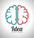 Ideas design, vector illustration. Stock Image