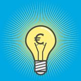 Ideas of earnings concept– stock illustration. Ideas of earnings conceptn  file Royalty Free Stock Images