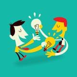 Ideas Exchange Stock Photo