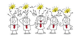 Ideas Exchange Stock Photography