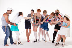 Ideas for hen party Royalty Free Stock Images