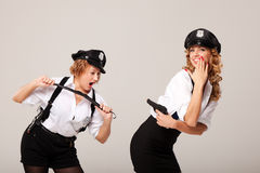 Ideas for hen party: play games Stock Photo
