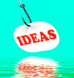 Ideas On Hook Displays Creative Thoughts And Concepts Royalty Free Stock Photos