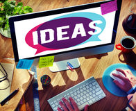 Ideas Idea Design Creativity Vision Inspiration Concept Royalty Free Stock Photography
