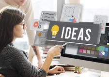Ideas Innovation Creativity Plan Thoughts Concept Royalty Free Stock Photos