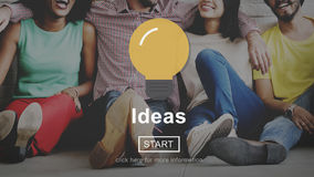 Ideas Innovation Creativity Thoughts Concept Royalty Free Stock Photo