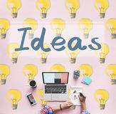 Ideas Innovation Tactics Thoughts Plan Concept royalty free stock photography