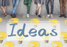 Ideas Innovation Tactics Thoughts Plan Concept Royalty Free Stock Images