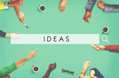 Ideas Inspiration Motivation Creativity Design Concept Royalty Free Stock Photos