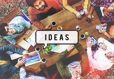 Ideas Inspiration Motivation Creativity Design Concept Royalty Free Stock Photography