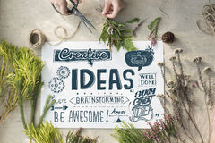 Ideas Inspire Creative Thinking Motivation Concept Royalty Free Stock Photo