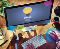 Ideas Knowledge Innovation Aspiration Inspiration Concept Royalty Free Stock Image