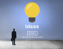 Ideas Knowledge Innovation Aspiration Inspiration Concept Royalty Free Stock Photos