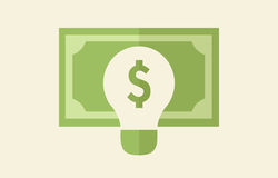 Ideas Making Money Concept Royalty Free Stock Photo