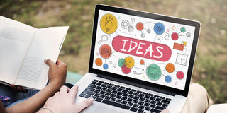 Ideas Mission Imagination Icons Vision Concept Stock Photo