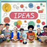 Ideas Mission Imagination Icons Vision Concept Stock Photos