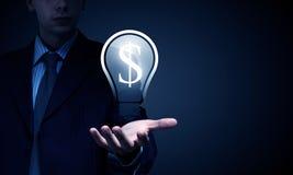 Ideas for money earning Royalty Free Stock Photos