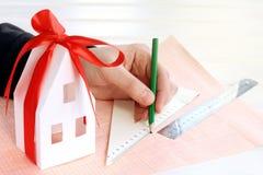Ideas plan for real estate Stock Photos
