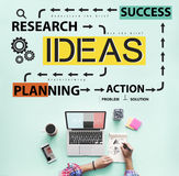 Ideas Proposition Strategy Suggestion Vision Concept stock photography