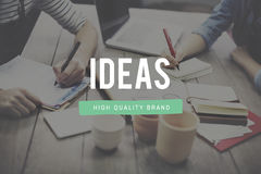 Ideas Proposition Strategy Suggestion Vision Concept. People Have Ideas Proposition Strategy Suggestion Vision stock photo