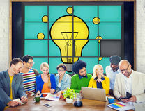 Ideas Puzzle Problem Solving Inspiration Creativity Concept Stock Photo