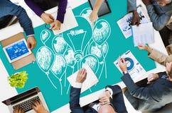 Ideas que piensan concepto de la creatividad de la inspiración del concepto Imagen de archivo