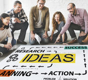 Ideas Research Planning Success Conceptualize Concept Royalty Free Stock Photo
