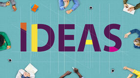 Ideas Strategy Suggestion Tactics Vision Thoughts Concept Royalty Free Stock Images