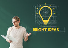 Ideas Think Innovation Creative Imagination Concept Royalty Free Stock Photo