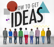 Ideas Thinking Concept Inspiration Creativity Concept Royalty Free Stock Images