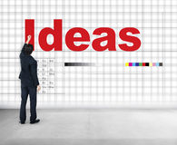 Ideas Thinking Creative Mission Thoughts Concept Royalty Free Stock Photography