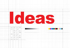 Ideas Thinking Creative Mission Thoughts Concept Royalty Free Stock Photos