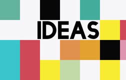 Ideas Thinking Creative Mission Thoughts Concept Royalty Free Stock Images